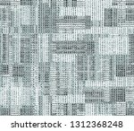 seamless abstract hand drawn... | Shutterstock . vector #1312368248