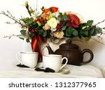 composition  still life with... | Shutterstock . vector #1312377965