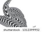 black and white stripe line... | Shutterstock .eps vector #1312399952