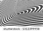 black and white stripe line... | Shutterstock .eps vector #1312399958