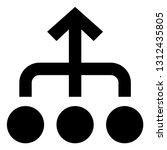 alliance unity unison icon | Shutterstock .eps vector #1312435805