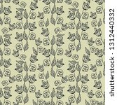 seamless pattern with... | Shutterstock .eps vector #1312440332