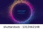 dynamic abstract liquid flow... | Shutterstock .eps vector #1312462148