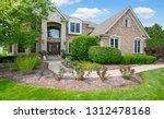 residential real estate exterior | Shutterstock . vector #1312478168