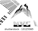 vector new york city poster | Shutterstock .eps vector #13125385