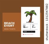 beach event booking app design...