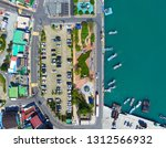 aerial view of ttangkkeut...   Shutterstock . vector #1312566932