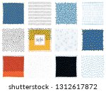 set of abstract backgrounds and ... | Shutterstock .eps vector #1312617872