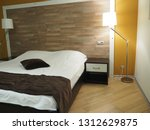 hotel room   condominium or... | Shutterstock . vector #1312629875