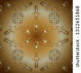 classic vintage background.... | Shutterstock .eps vector #1312651868