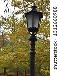 stylish streetlamp in a park | Shutterstock . vector #1312660988