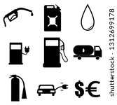 a simple set of icons for the... | Shutterstock .eps vector #1312699178