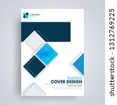 business cover  brochure or... | Shutterstock .eps vector #1312769225