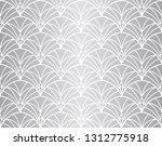 seamless arabesque floral...   Shutterstock .eps vector #1312775918