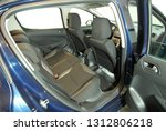 black rear seat in the... | Shutterstock . vector #1312806218