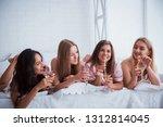 good time spending. joyful...   Shutterstock . vector #1312814045