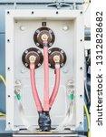 motor terminal box of high... | Shutterstock . vector #1312828682