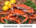 Steamed Blue Crabs One Of The...