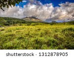 fields in front of arenal... | Shutterstock . vector #1312878905
