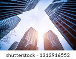 bottom view of modern... | Shutterstock . vector #1312916552