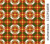 vector seamless pattern ... | Shutterstock .eps vector #1312916858
