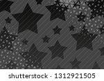beautiful black abstract... | Shutterstock . vector #1312921505