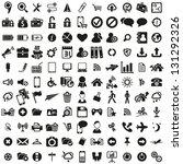 universal web icons set | Shutterstock .eps vector #131292326