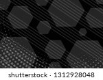 beautiful black abstract... | Shutterstock . vector #1312928048
