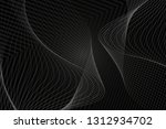 beautiful black abstract... | Shutterstock . vector #1312934702