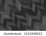 beautiful black abstract... | Shutterstock . vector #1312940012