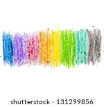 Colorful Texture Pastel Stick...