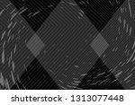 beautiful black abstract... | Shutterstock . vector #1313077448