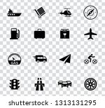 vector transport  tavel ... | Shutterstock .eps vector #1313131295