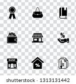 vector sale and shopping icons... | Shutterstock .eps vector #1313131442