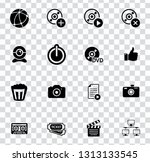 vector social media and... | Shutterstock .eps vector #1313133545