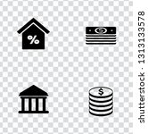 vector investment money icons... | Shutterstock .eps vector #1313133578