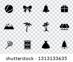 vector holiday illustrations  ... | Shutterstock .eps vector #1313133635