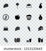 vector food icons set   bakery  ... | Shutterstock .eps vector #1313133665