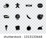 vector food icons set   bakery  ... | Shutterstock .eps vector #1313133668