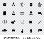 vector school education icons... | Shutterstock .eps vector #1313133722