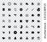 web icons set for computer.... | Shutterstock .eps vector #1313138915