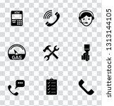 vector customer center and... | Shutterstock .eps vector #1313144105