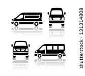 set of transport icons   cargo... | Shutterstock .eps vector #131314808
