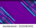 purple color abstract... | Shutterstock .eps vector #1313181452