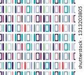 seamless vector pattern.... | Shutterstock .eps vector #1313203805