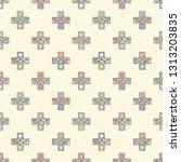 seamless vector pattern.... | Shutterstock .eps vector #1313203835