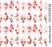 seamless vector pattern.... | Shutterstock .eps vector #1313203838