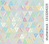 seamless vector pattern.... | Shutterstock .eps vector #1313204225