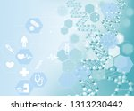 medical concept image | Shutterstock . vector #1313230442