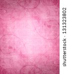 pink background texture with... | Shutterstock . vector #131323802